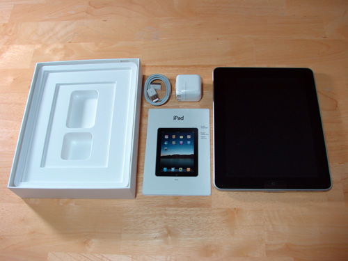 iPad with box