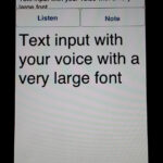 Note, Listen Deaf App