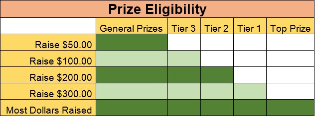 Prize eligibility graphic