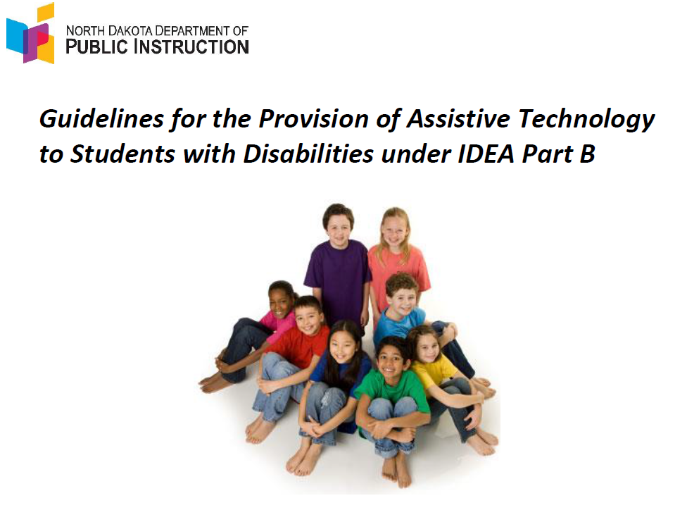 DPI Releases New AT Guidelines! – ND Assistive