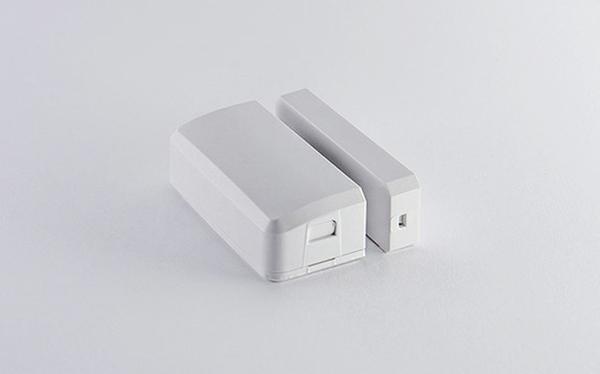 SmartSense Multi Sensor. Two small white rectangular shaped cubes