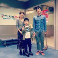 Photo of Hibiki and his parents