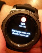 SOS on the Samsung Gear S3