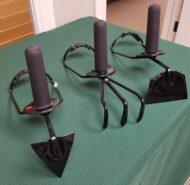 Ergonomically designed gardening tools