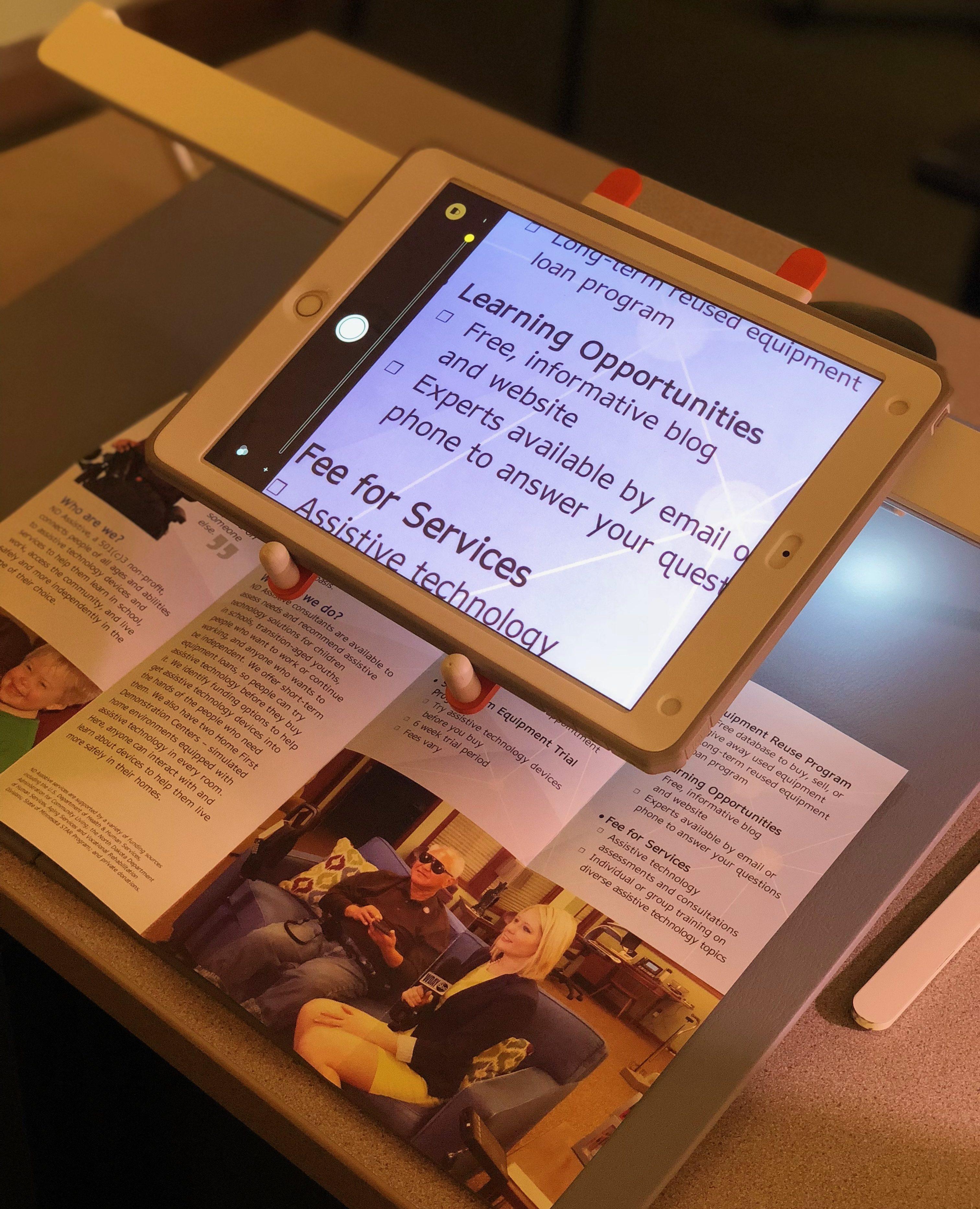 USee with an iPad