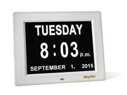 Picture of a calendar clock