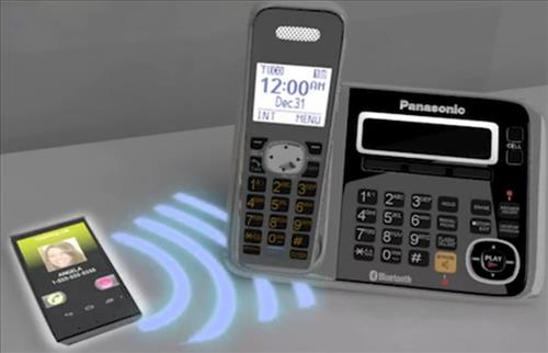 Panasonic phone with Bluetooth connectivity