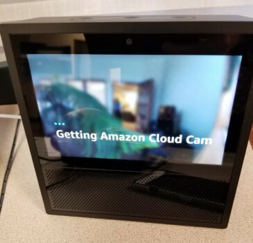 Alexa Echo Show with Cloud Cam