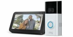 Ring Video Doorbell and Echo Show 5