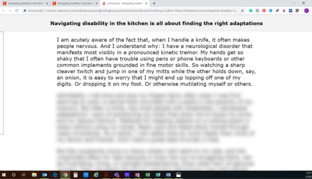Web article distilled to simplified, text only version. One paragraph is clear, the rest of the article is