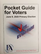 Photo of Pocket Guide for Voters for June 9 Primary Election by Protection and Advocacy