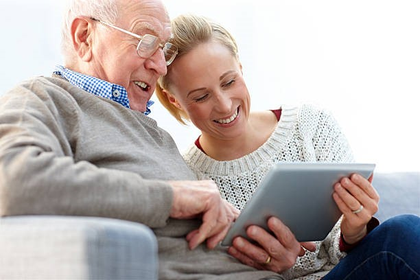 Helping Seniors Engage in the Power of Technology