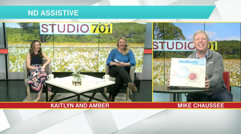 Studio 701 Interview with Mike Chaussee from ND Assistive
