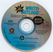 Old Write:Outloud Install Disk from Don Johnston