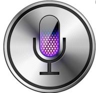The old Siri logo